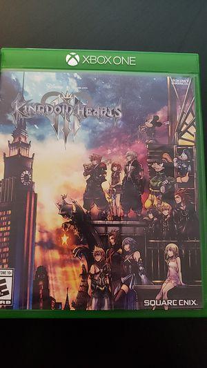 Kingdom Hearts III for Sale in Everett, WA