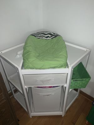 Corner baby changing station for Sale in Frederick, MD