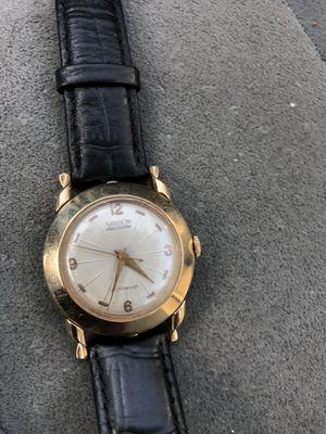 14k gold Gruen precisión men's watch for Sale in Chicago, IL