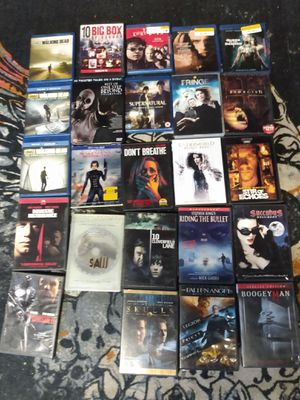 Horror movie and tv bundle!! Perfect for these Halloween get togethers for Sale in Chesapeake, VA