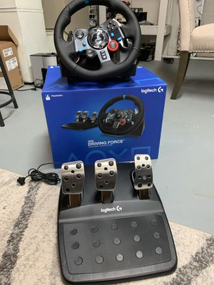 Logitech g29 wheel and pedals like new still in plastic for Sale in Marlboro Township, NJ