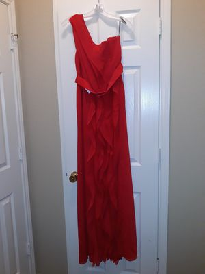Off the shoulder bridal party or prom gown for Sale in Atascocita, TX