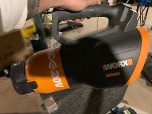 Worx leaf blower for Sale in Pennsauken Township, NJ