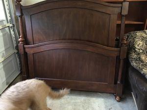 Queen Bedroom Suit - Solid Wood for Sale in Huntsville, AL