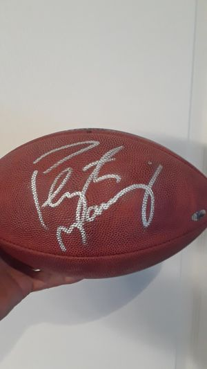 PEYTON MANNING AUTOGRAPHED WILSON NFL OFFICIAL FOOTBALL/ COA STEINER SPORTS for Sale in Clovis, CA