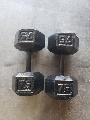 Nice dumbbells weights for Sale in Lake Stevens, WA