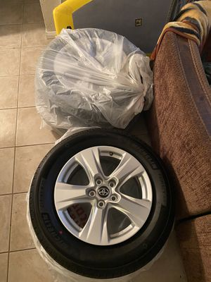 """4 brand new alloy 17"""" rims and tires for Sale in San Diego, CA"""
