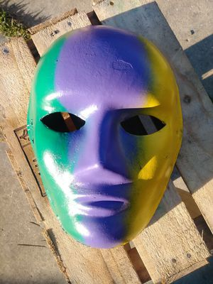 Faces Of Carnival Mask 2020 for Sale in Metairie, LA