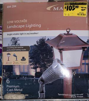 Landscape lighting. Cast metal. Copper/Black Finish ... NEW for Sale in Watsonville, CA