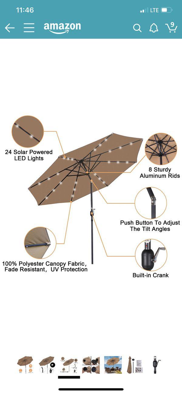 ZENY outdoor Umbrella /open box