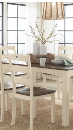 New Beautiful Six Chair Dining Set for Sale in Orlando, FL