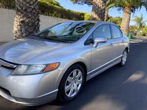 2006 Honda Civic Lx 1 Owner Carfax Smog LOW MILES 90,xxx 5 speed Manual 4 Cylinder GAS SAVER POWER WINDOW ,LOCK,MIRRORS ALARM CONTROL 2 set ke for Sale in Stanton, CA