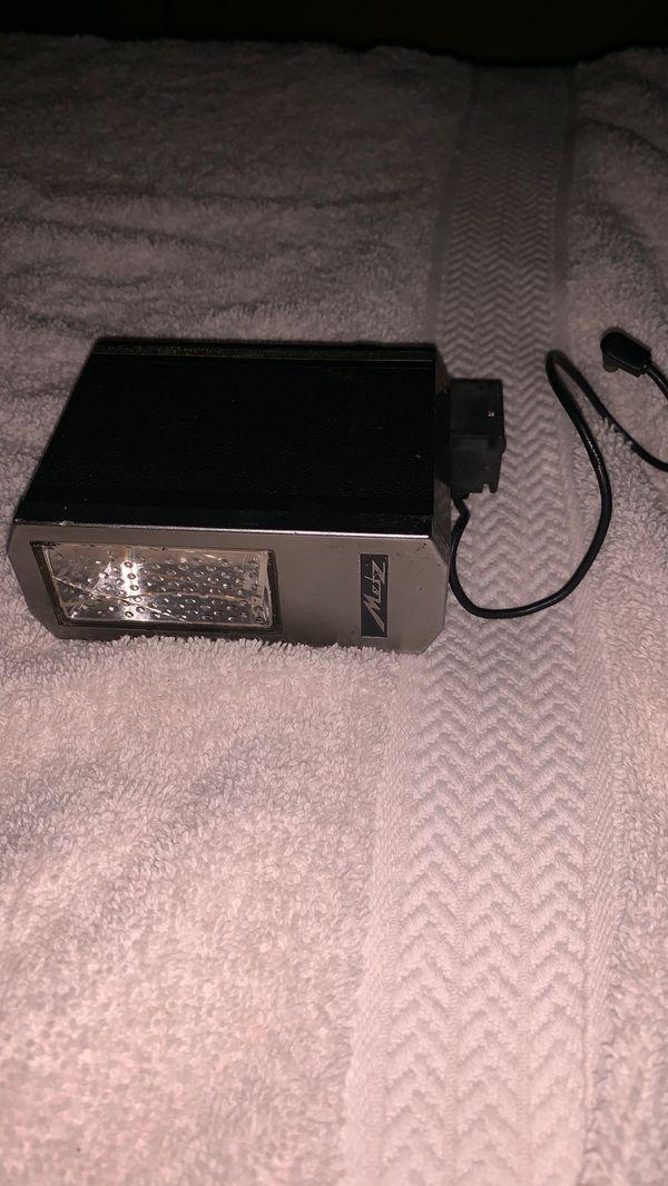 Vintage flash for film camera
