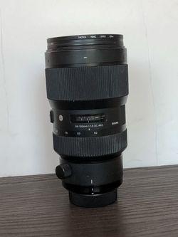 Sigma 50-100mm f/1.8 DC HSM Art Lens for Nikon F for Sale in Phoenix,  AZ