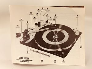Instruction Book Dual 1009 Turntable for Sale in Roanoke, VA