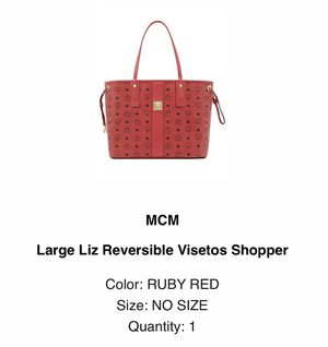 MCM Large Liz Reversible Visetos Shopper for Sale in Boston, MA
