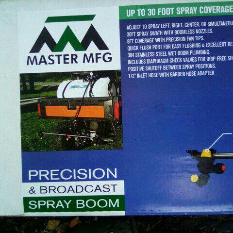 Master MFG Precision & Broadcast Spray Boom