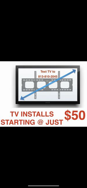 TV WALL MOUNTING for Sale in Riverview, FL