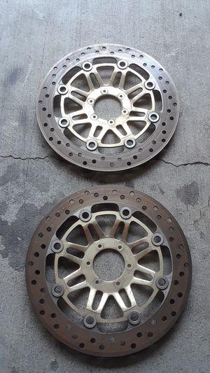 Honda motorcycle brake rotors for Sale in San Diego, CA