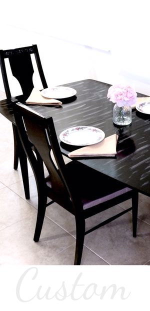 Drift wood dining table and 4 chairs. MAKE OFFER for Sale in Delray Beach, FL
