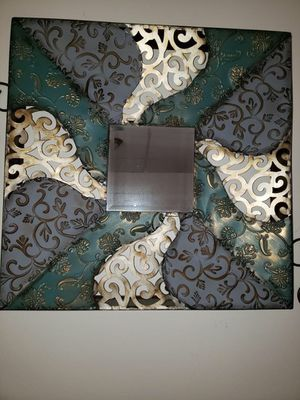 Beautiful Accented Mirror with Wall Scones for Sale in Danvers, MA
