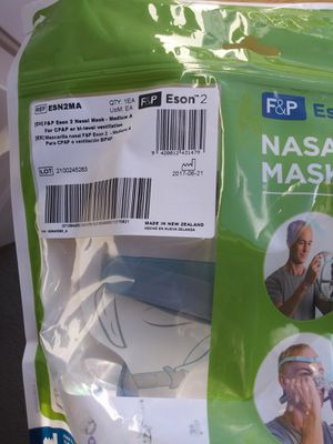 Fisher & Paykel Eson 2 CPAP Mask Set for Sale in Castle Rock, CO