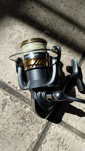 "Daiwa fishing rod reel combo laguna and ardito tr spinning rod 7'3"" med heavy fast tip for Sale in Phoenix, AZ"