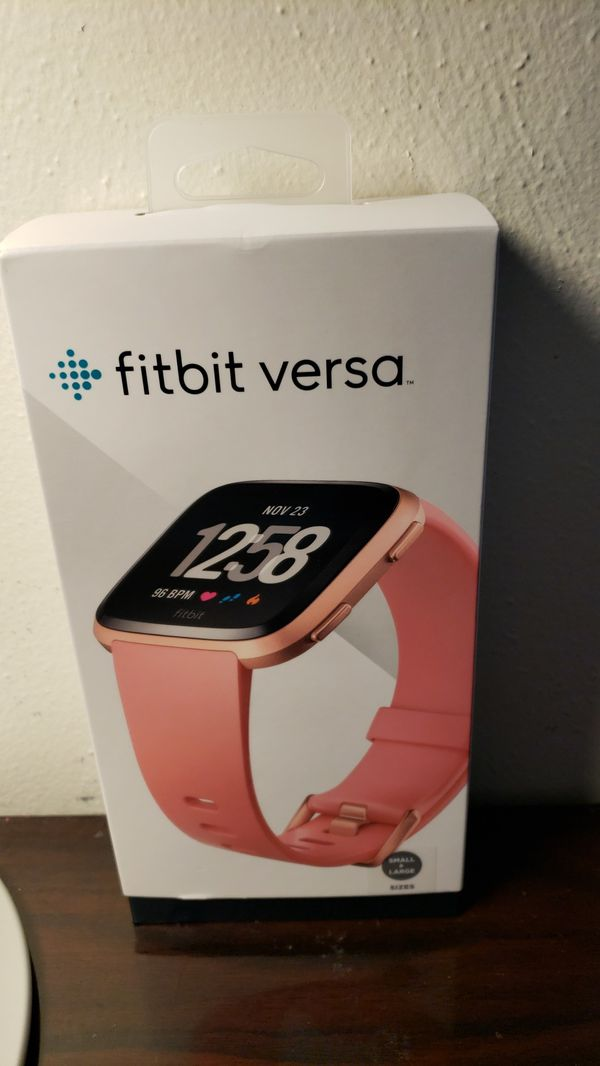 Fitbit Versa brand new in box! Lost receipt. Store policy wont take back. 1 for 120 or 2 for 200