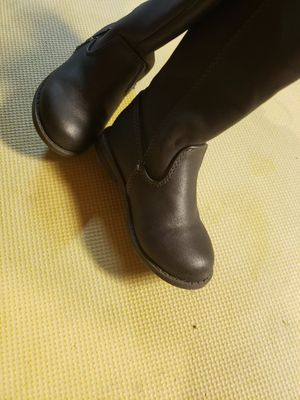 Super tall super cute toddler girl riding boots size 7 for Sale in Alsip, IL