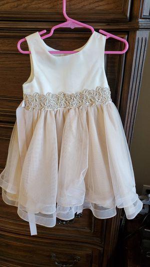 Toddler flower girl dress size 3t. for Sale in Commerce Charter Township, MI
