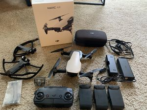 Diji Mavic Air Arctic White 4K drone for Sale in Seattle, WA
