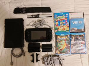Nintendo Wii U Deluxe Edition Bundle for Sale in Germanton, NC