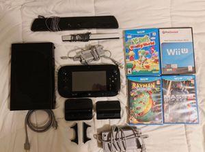 Nintendo Wii U Deluxe Edition Bundle for Sale in Germanton, NC