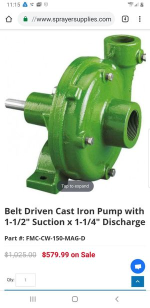 Ace pump Corp Belt driven cast iron pump for Sale in Los Angeles, CA