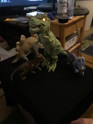 Dinosaurs / all 4 for $8 for Sale in San Bernardino, CA