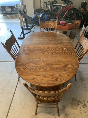 Kitchen Table with Chairs for Sale in Redlands, CA