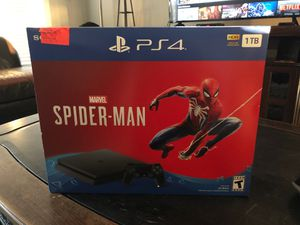 PS4 Spider-Man bundle (brand new) for Sale in El Paso, TX