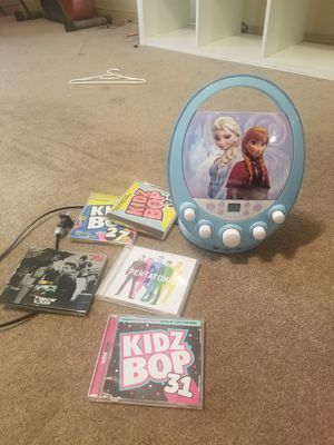 Kids CD player with CDs for Sale in Bakersfield, CA