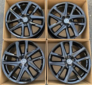 "19"" Lexus GS factory wheels rims gloss black new GS350 GS450 for Sale in Irvine, CA"