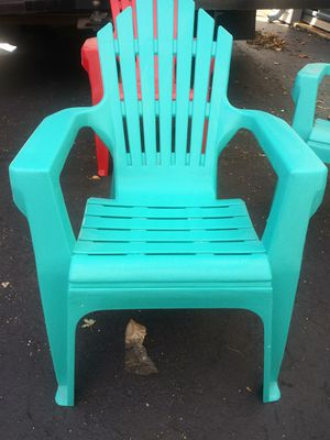 Heavy plastic chair for kids for Sale in Channahon, IL