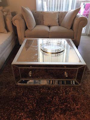 Luxury mirror coffee table for Sale in Glendale, AZ