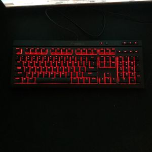 Gaming Keyboard And Mouse K68 RGB Keyboard And Corsair Mouse for Sale in Shelbyville, KY