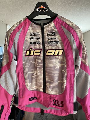 Icon Women's Motorcycle Jacket - Size Small for Sale in West Covina, CA