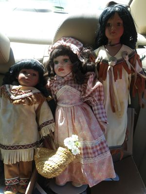 Antique indian dolls for Sale in Newfield, NJ