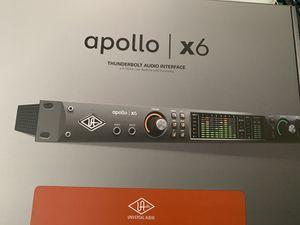 Uad Apollo x6 new for Sale in Atlanta, GA