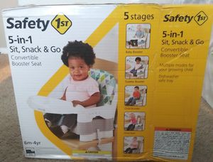 Safety 1st booster seat for Sale in Irving, TX