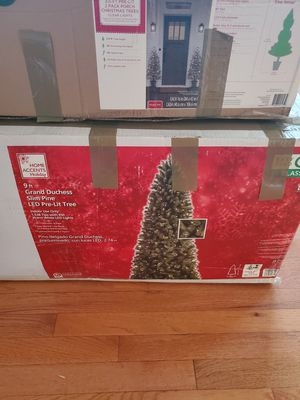 9' Christmas tree and 3.5 Christmas tree for Sale in Centreville, VA