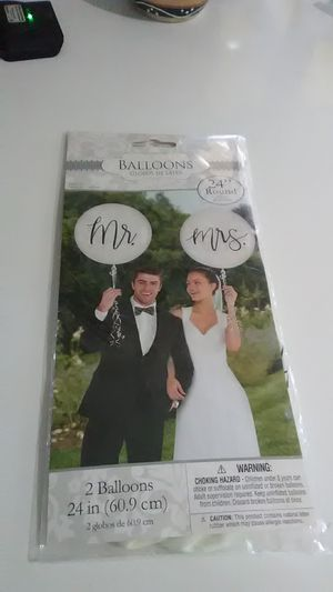 Brand new wedding balloons. for Sale in Port St. Lucie, FL