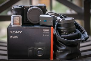 Sony A6600 with Sony 16-55mm F2.8 SEL1655G & 32 gb SD card for Sale in Alhambra, CA