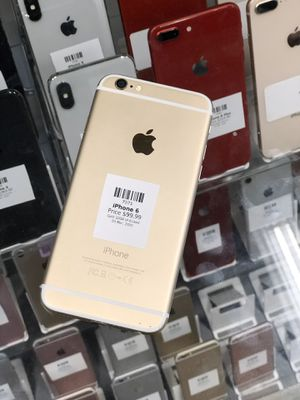 Gold IPhone 6 32GB (CARRIER UNLOCKED) for Sale in Rancho Cordova, CA
